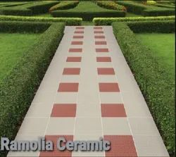 Matt Square Ceramic Parking Tiles, Thickness: 9 to 12 mm, Size: 12 X 12, 16 X 16 inch
