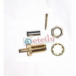 RP BH For Rg 316 SMA Female Straight Separate Pin