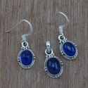 Rainbow Moonstone 925 Sterling Silver Jewelry Set