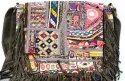 Banjara Leather Shoulder Indian Vintage Embroidery Cross Body Bag