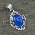 925 sterling silver handmade jewelry lapis lazuli gemstone fine pendant