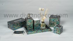 Abalone Mother of Pearl Bathroom Set