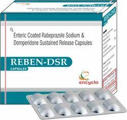 Enteric Coated Rabeprazole Sodium & Domperidone Sustained Release Capsules