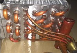 Double Circuit Cooling Coils