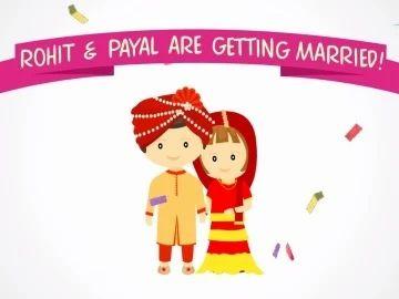 Wedding Card Animation Wedding Card