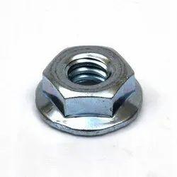 Hex Mild Steel Flange Serrated Nuts