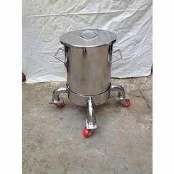 100 Liter SS storage tank