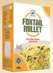 Indian Foxtail Millet, High in Protein