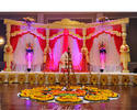 Welcome Lady Mandap And Stage
