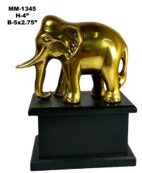 Brass Elephant Paoti Stand