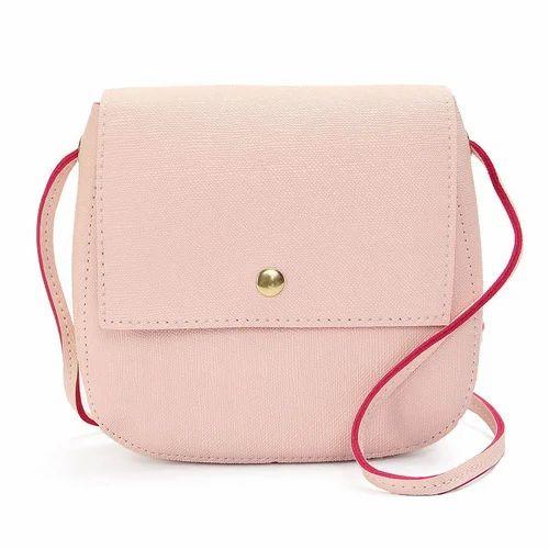 0bab564de3a Rexine Plain Ladies Mini Sling Bag, Rs 250 /piece, Bag World | ID ...