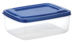 Rectangular Plastic Storage Container Crystal 7002