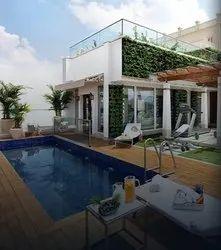 Terrace Garden Natural Walls Service