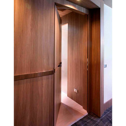 Acoustic Wooden Door