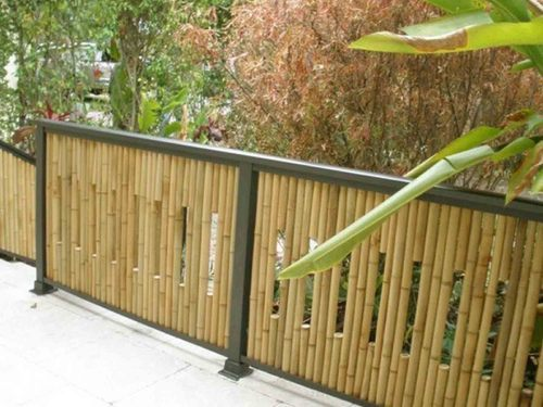 Wood,MS Wooden Fences, Rs 480 /square feet, Thatched Roof Eco ...