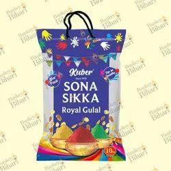 BOPP Laminated Gulal Packaging Bags