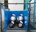 Merrit Hydraulic Goods Lift For Two Wheeler
