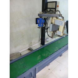 Slat Chain Conveyors with Bag Stitching Machine