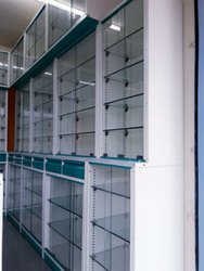 Medical store display racks