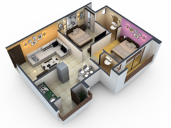 Everything 3D Isometric Rendering, in Pan India, Anywhere