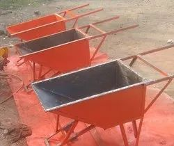Mild Steel Concrete Trolley for Construction, Load Capacity: Up To 80 Kg