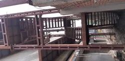 Mild Steel Fire Staircase