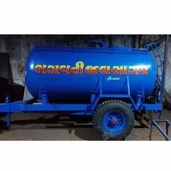 Mild Steel Water Storage Tanker
