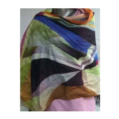 4ed087582 Scarves and Mufflers - Printed Linen Scarves Manufacturer from Ludhiana