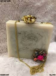 Beautiful & Classy Box Clutch Bag
