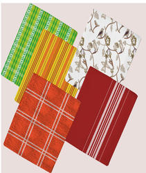 Multicolor Printed Tea Towels, 180Gsm to 200Gsm, Size: 45x65cm