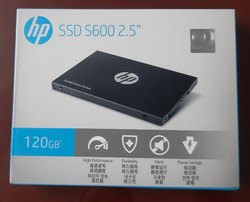 Solid State Drive ( SSD 120 GB HP )