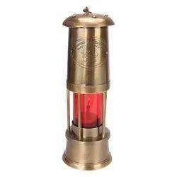 Nautical Royal Navy London Portable Hanging Kerosene Oil Lantern Lamp( 9 Inches)