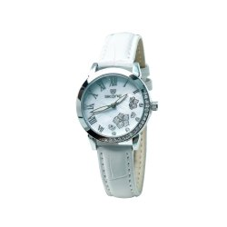 Skone 9173-2 Analog White Dial Women's Watch