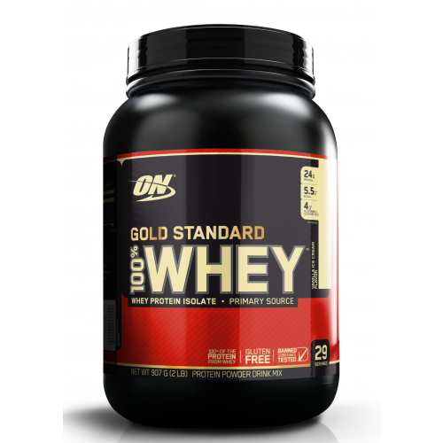 Optimum Nutrition Gold Standard 100% Whey Protein isolate, Packaging Type: Plastic Container