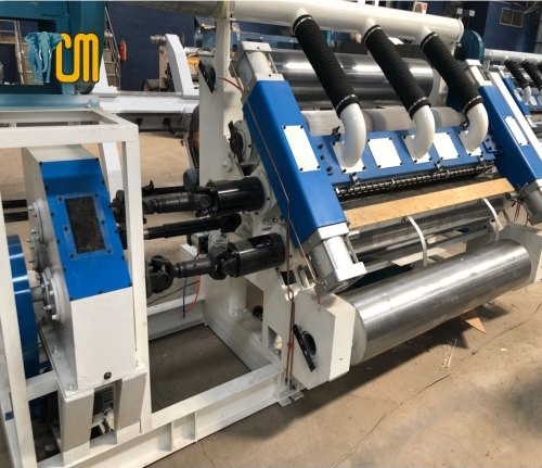 Automatic Single Facer - Fingerless Model (UD), Capacity: 25-40 Ton/Day
