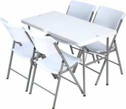 Nakoda Plastic Folding Dining Table