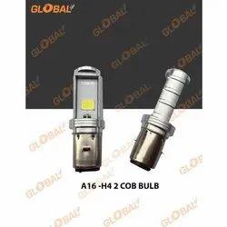 Global LED A16-H4 2 Cob Bulb, 12-24 V