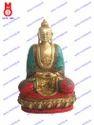 Lord Buddha Sitting Amitabha W/Stone Work