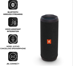 JBL Flip 4 Portable Wireless Speaker with Powerful Bass & Mic