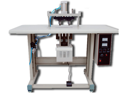 Ultrasonic Double Loop Handle Punch Welding Machine