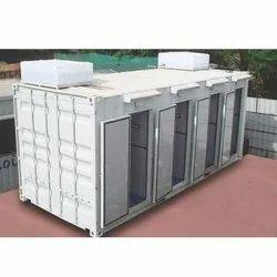 Mild Steel Portable Toilet Cabin