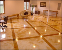 Stained Concrete Flooring Service