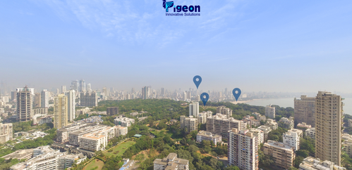 Aerial 360 Degree Virtual Tour Photography Solution in Lbs Marg
