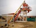 Pan Mixer Based Concrete Batching Plant