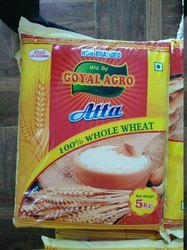 Goyal Agro 6 Month 5kg Whole Wheat Chakki Atta, Pack Type: Bag