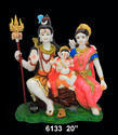 Lord Shiv with Family
