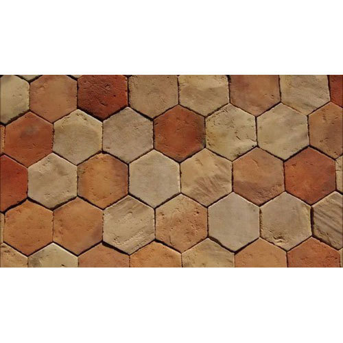 Ceramic Terracotta Floor Tile Rs 25