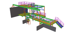 CAD Design Structural Steel Detailing Services USA, Globally
