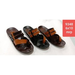PU Casual Gents Formal Slipper, Size: 6-10