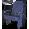Blue Cinema Theater Chair